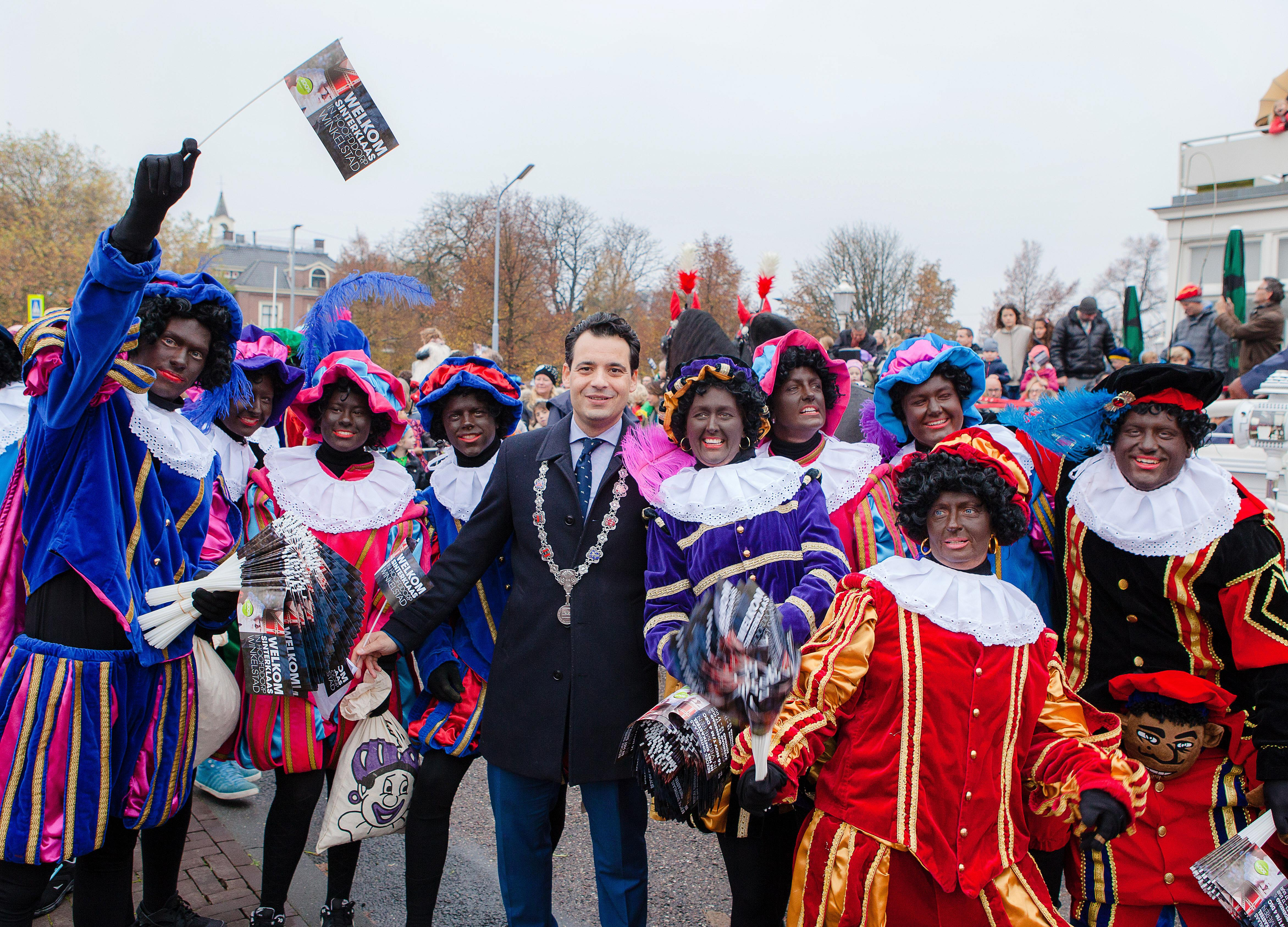 Sinterklaas als eerste naar Badhoevedorp