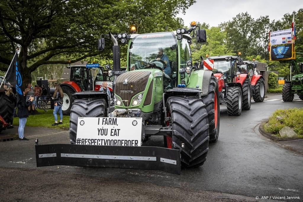 Boeren starten hun tractoren weer na acties in vijf steden