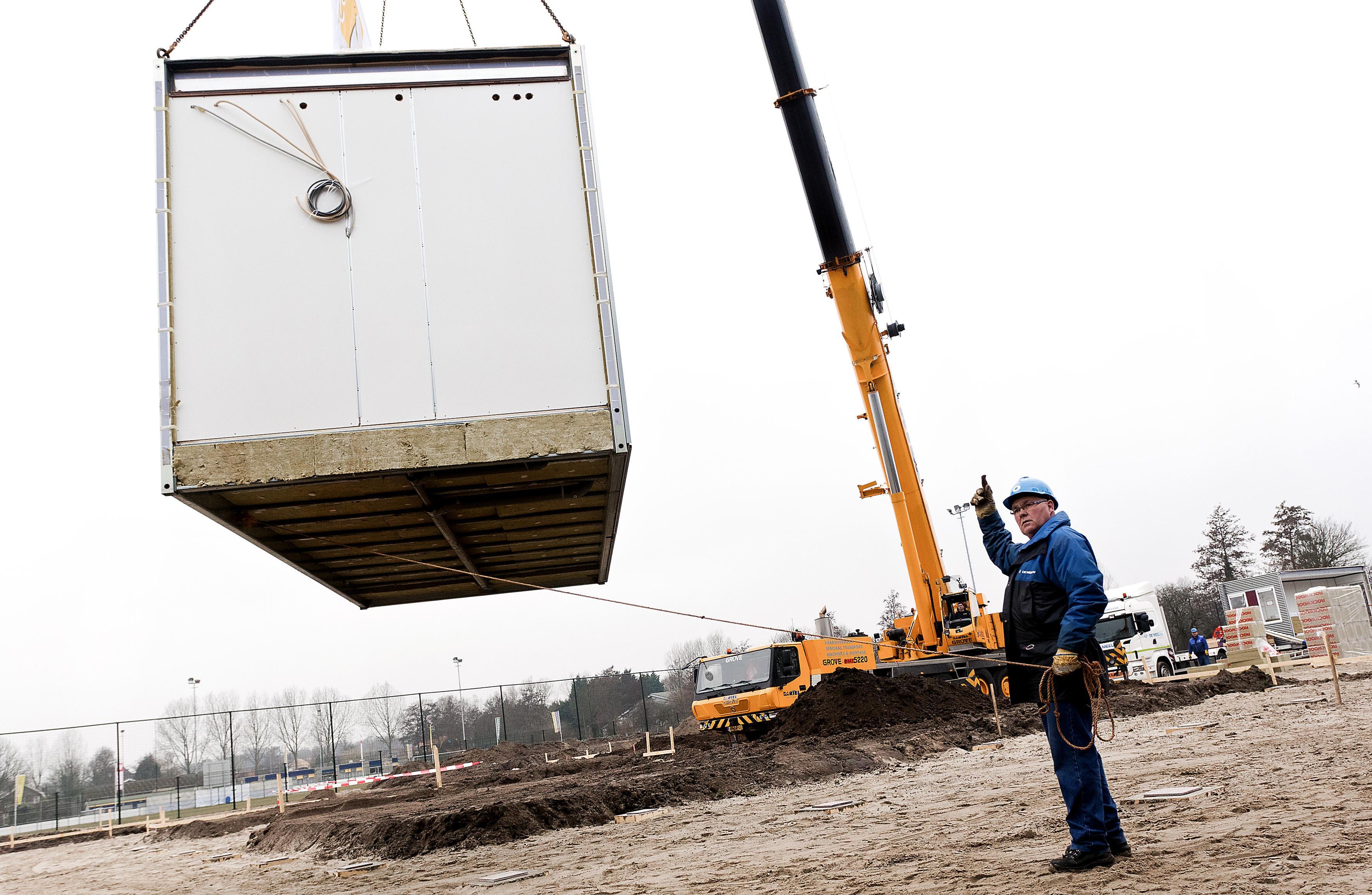Gewraakte locaties van de baan in Akersloot, bewoners en gemeente gaan samen op zoek naar plaats voor flexwoningen