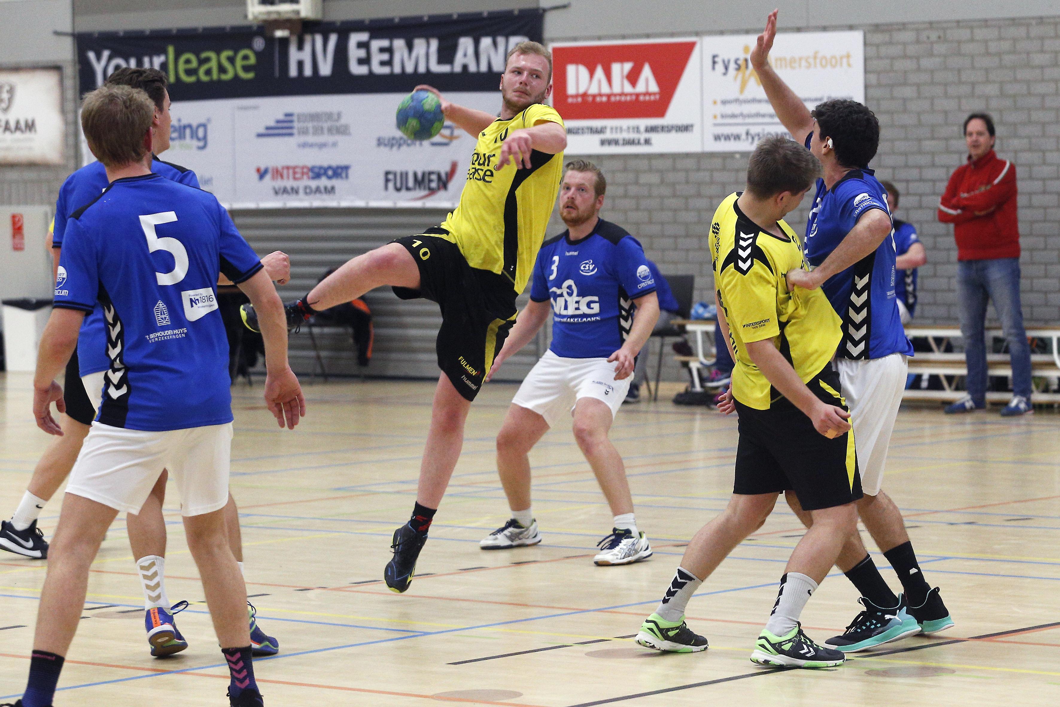 Compleet gerenoveerd HV Eemland is blij met herkansing en gaat met nieuw elan de eerste divisie in: 'Iedere wedstrijd tot het gaatje'