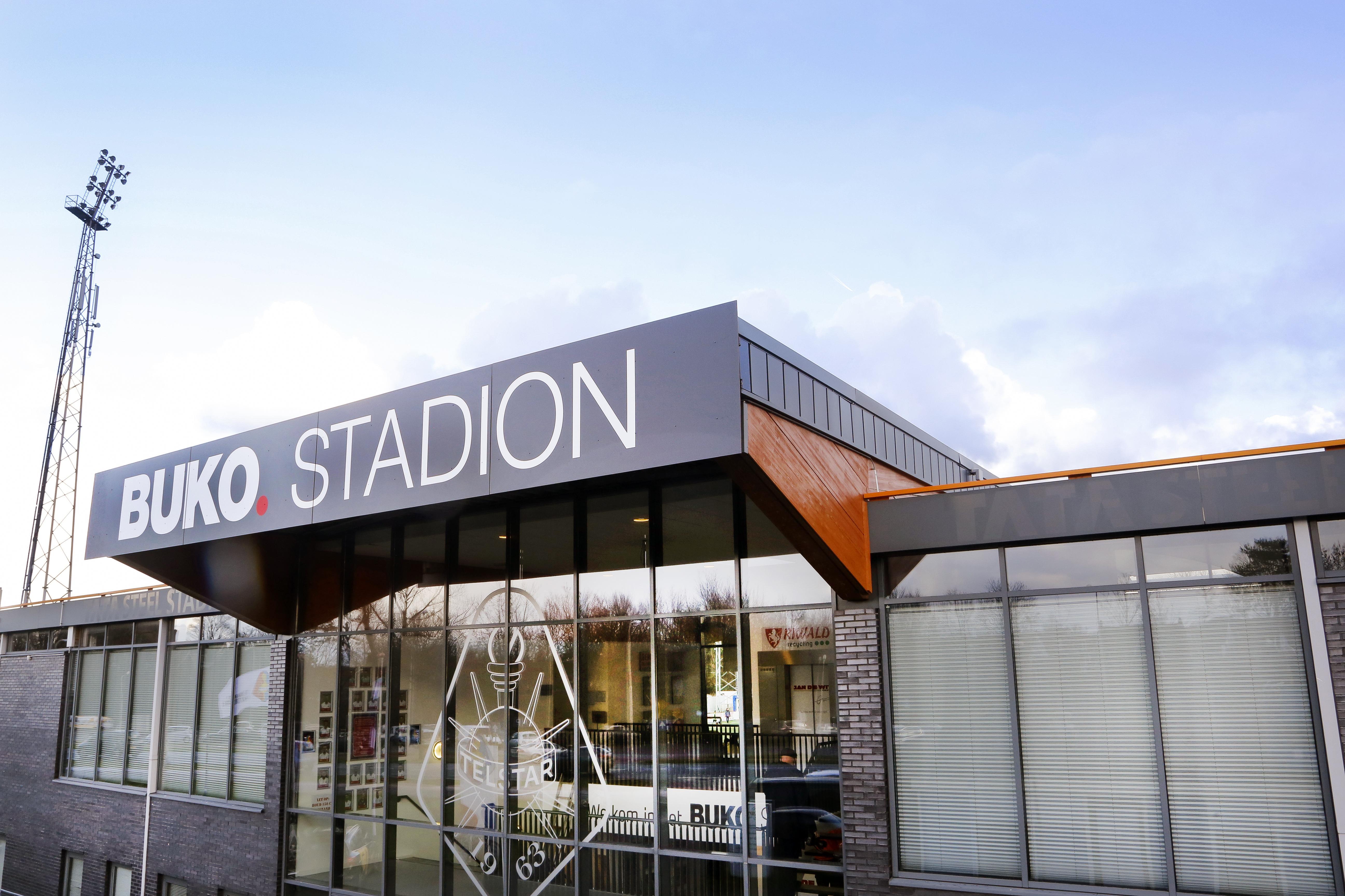 Buko nieuwe hoofdsponsor van Telstar tot in elk geval 2023: 'Buko Stadion, het bekt lekker'