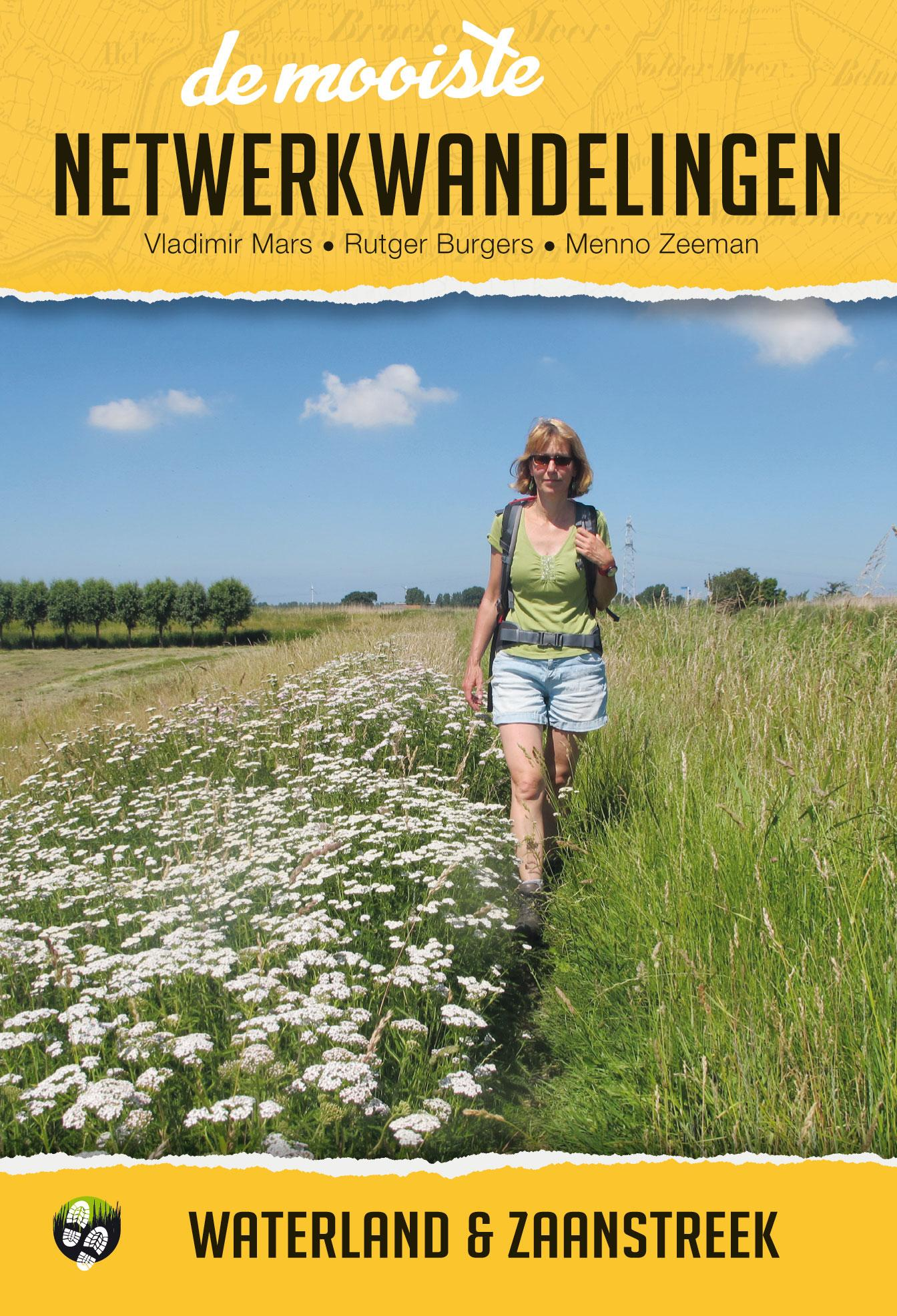 Wandelgids 'Waterland & Zaanstreek'