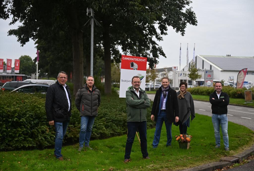 Camera registreert 24/7 kentekens op bedrijventerrein WFO in Zwaagdijk-Oost