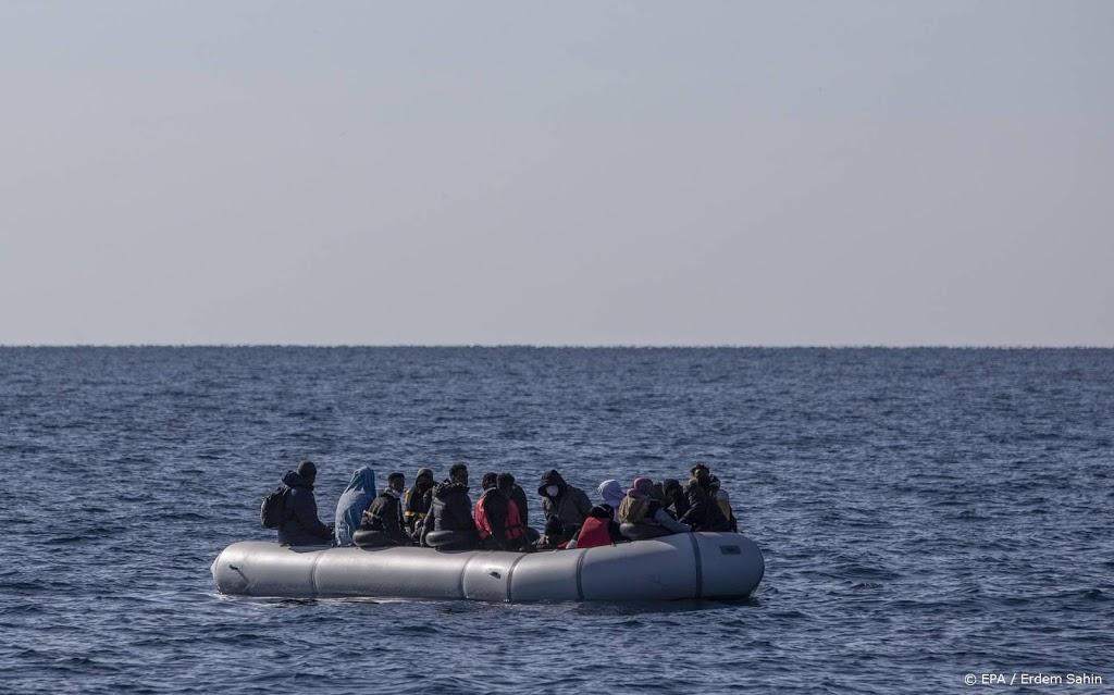 Griekse kustwacht redt 170 migranten van boot op drift