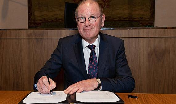 Wim Groeneweg (63) waarnemend burgemeester in Opmeer
