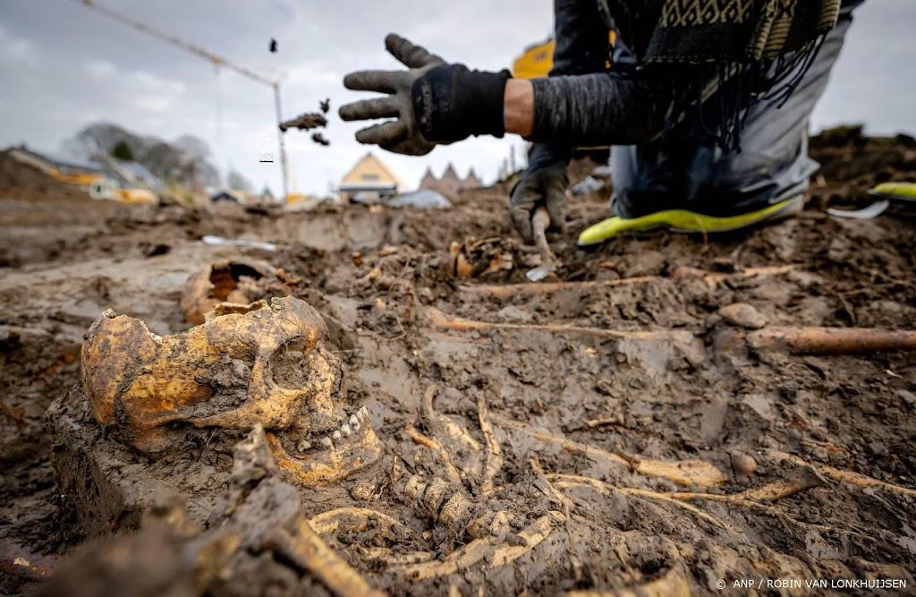 'In massagraf gevonden skeletten slachtoffer van veldslag'