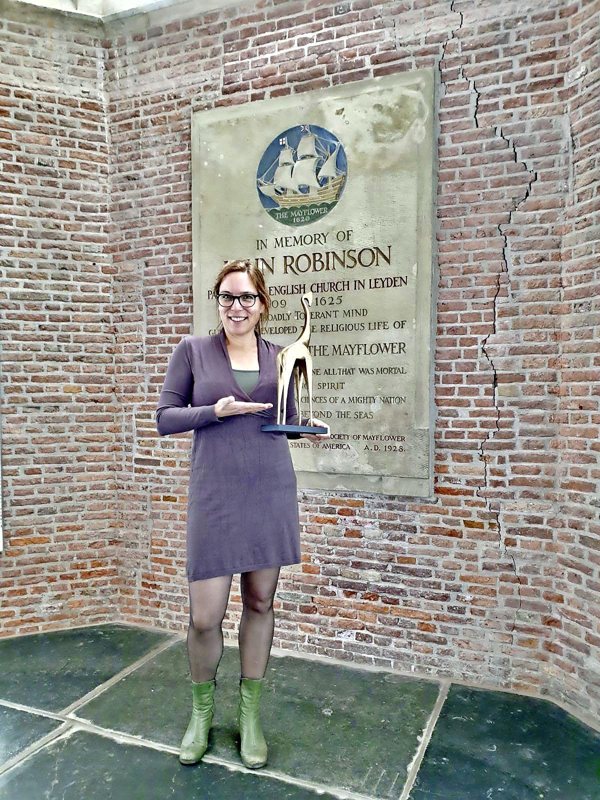Marketingprijs 'Gouden Giraffe' voor online opening Pilgrimjaar van Leiden400