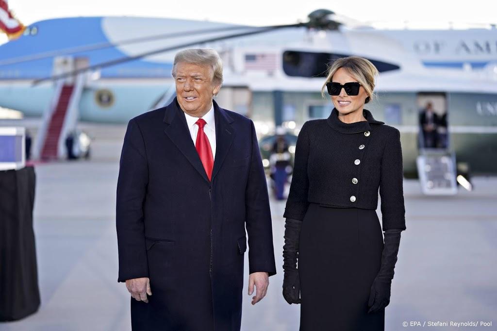Trump en echtgenote in januari gevaccineerd