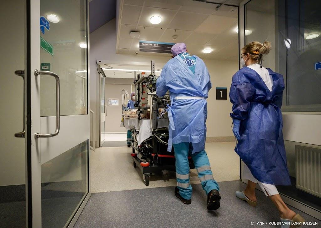 Iets meer coronapatiënten in ziekenhuizen