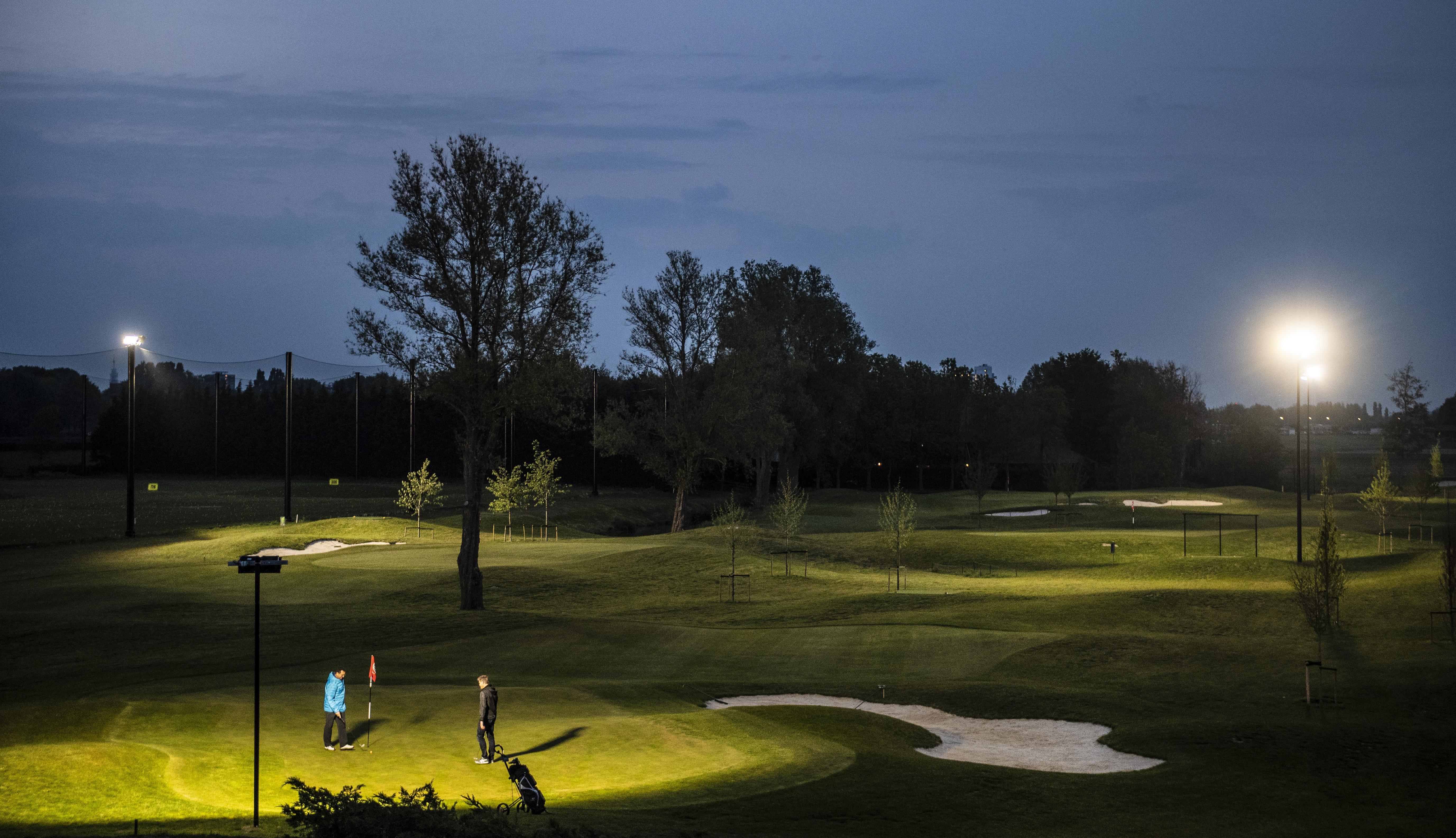 Haarlemmermeersche Golfclub: in het licht op de nieuwe Bolstra-baan