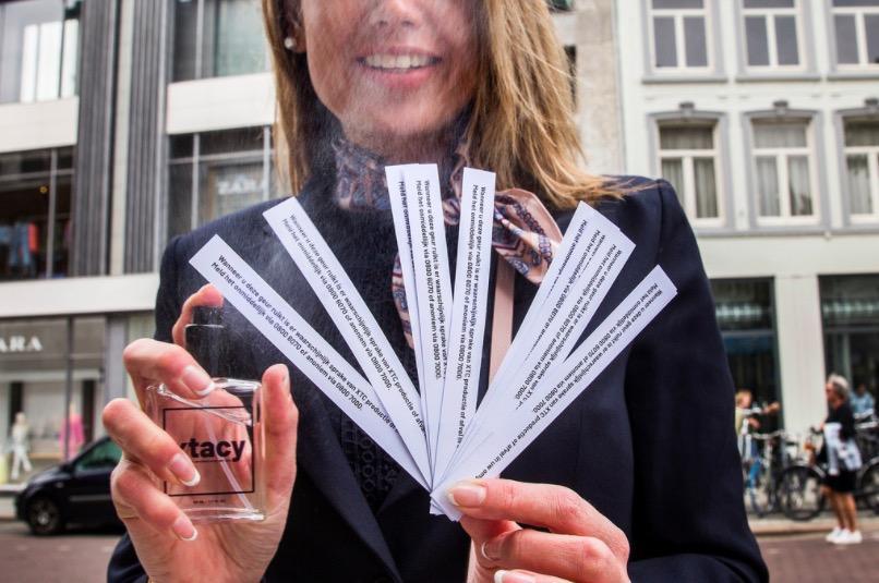 Weet u hoe XTC ruikt? Hilversum deelt zaterdag XTC-geurkaarten uit op de markt