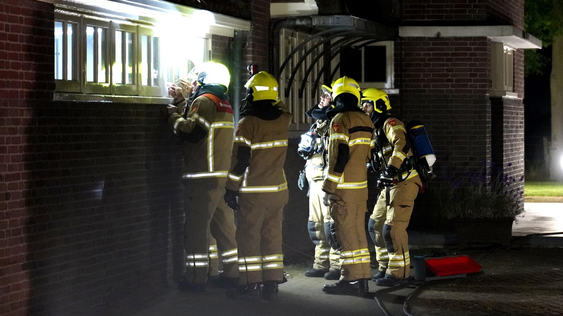Brandweer rukt uit voor brand in Villa Westerland, maar treft niets aan