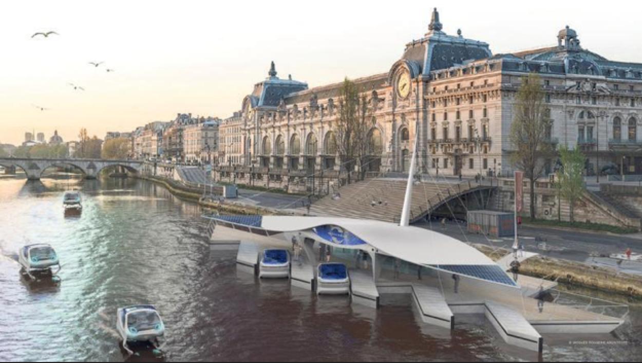 Snelle zuinige boten als stadsvervoer: in een SeaBubble snel over het water in Amsterdam [video]