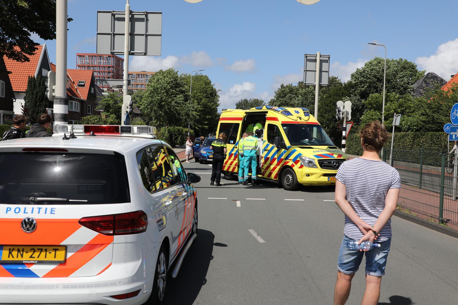 Vrouw gewond bij aanrijding in Heemstede