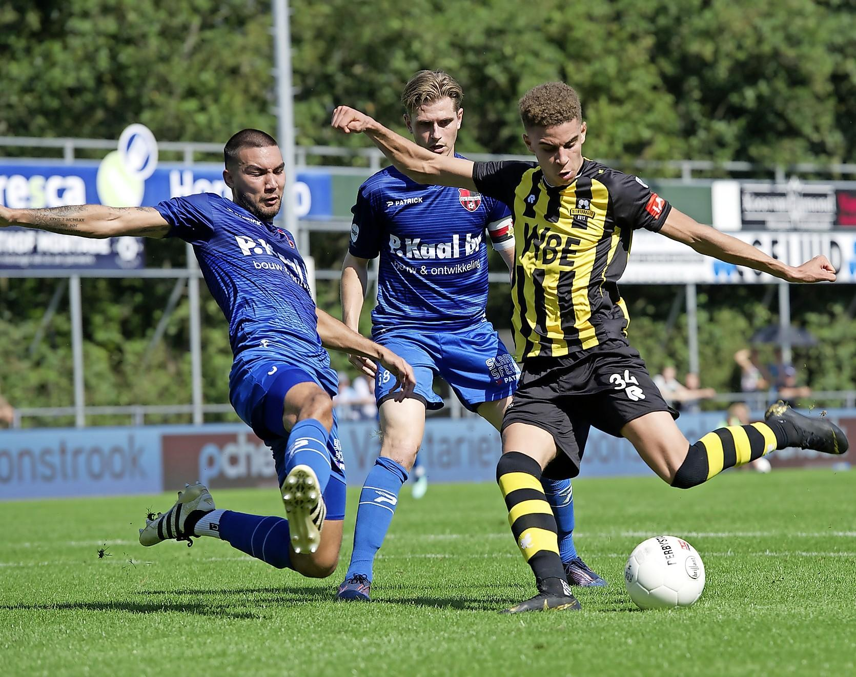 Aanvaller Anthony van Dongen keert terug naar DEM; contract bij Rijnsburgse Boys ontbonden