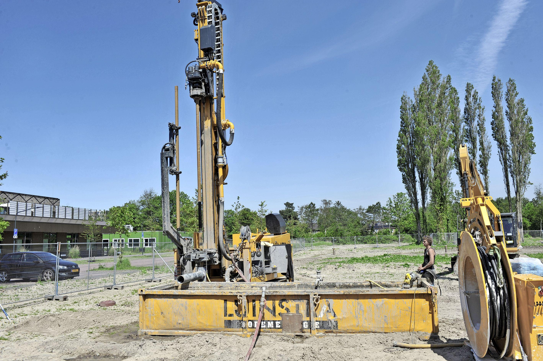 Begin omstreden bouw gasloze villa's in park Heemskerk