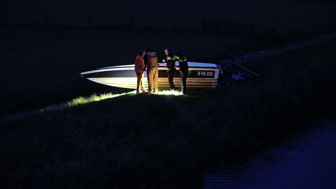 Drie personen gewond bij ongeluk met boot in Oude Niedorp