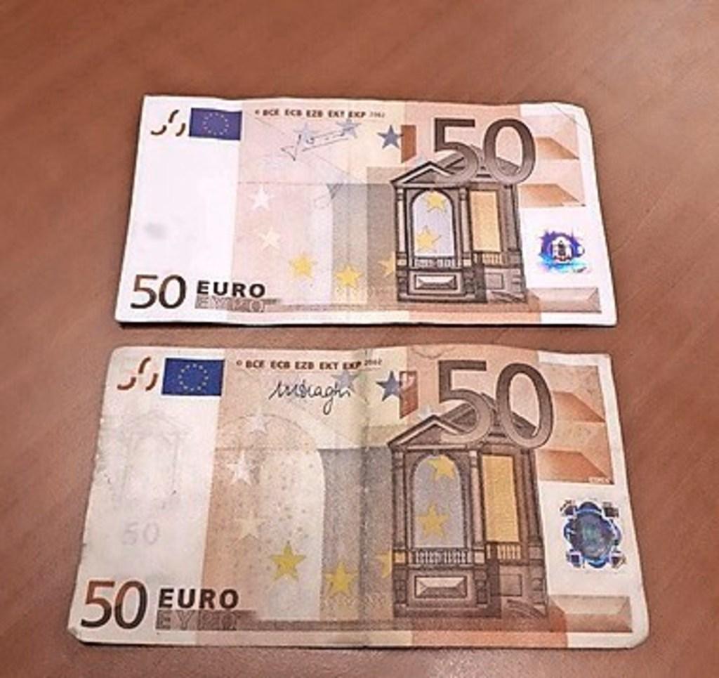Maaltijdbezorgers in Zaanstreek vaker doelwit van betaling met valse bankbiljetten