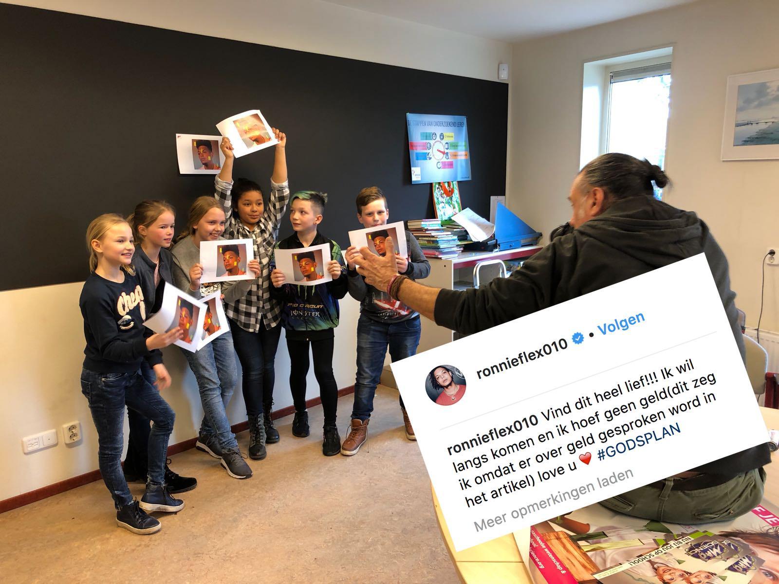 Rapper Ronnie Flex komt gráág naar De Harpoen in Jisp