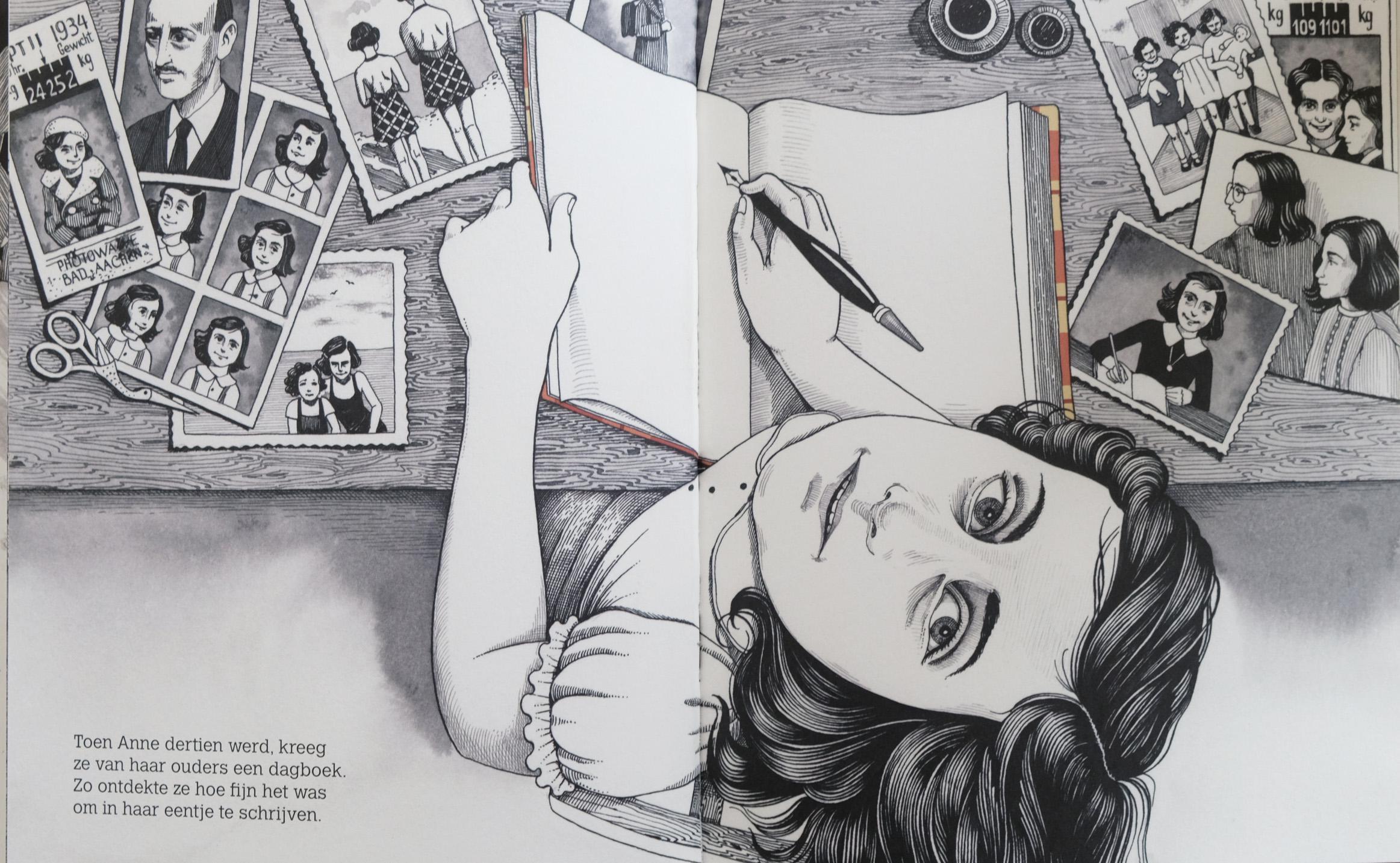 Nieuw prentenboek over Anne Frank zwerft vanaf dodenherdenking door het land