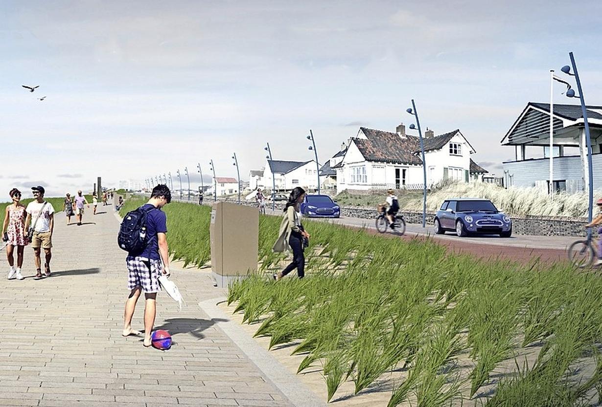 Veiliger Boulevard Paulus Loot in Zandvoort heilig voor GBZ-fractie. 'Ik wil geen bloed aan mijn handen'
