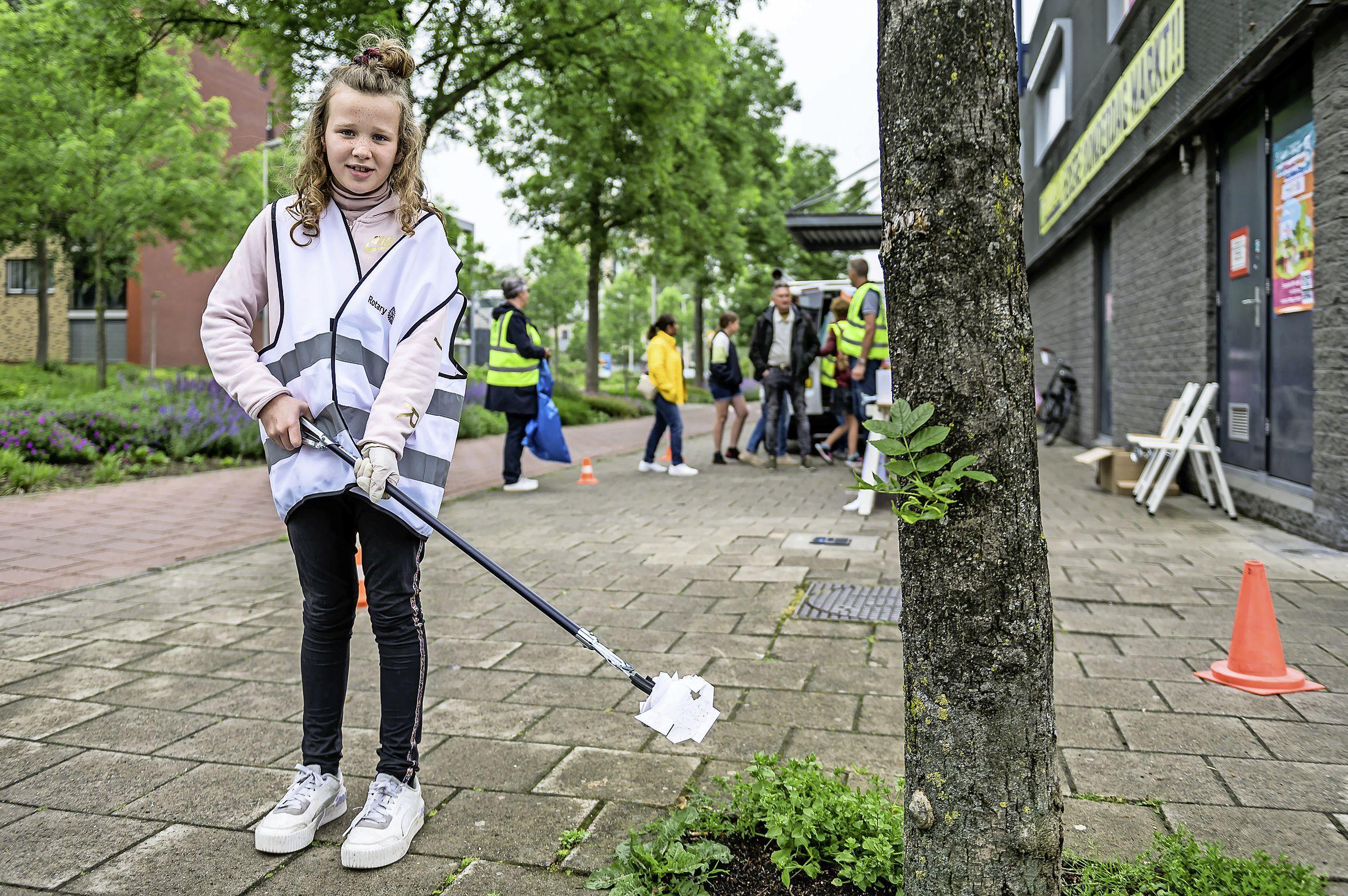 Rotary verzamelt 125 kilogram afval in tijdens Priknick Zwerfafval Estafette: 'De mondkapjes beginnen een probleem te worden'
