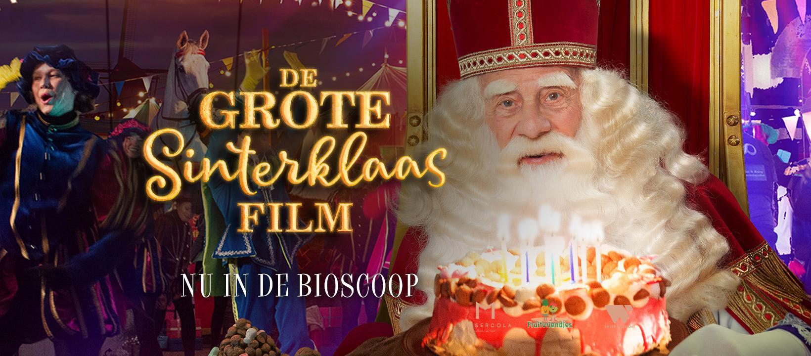 Goed nieuws: sinterklaas-filmweekend in Filmtheater Hilversum en Vue kan toch doorgaan. Onderdeel van 'roadshow Sinterklaas'