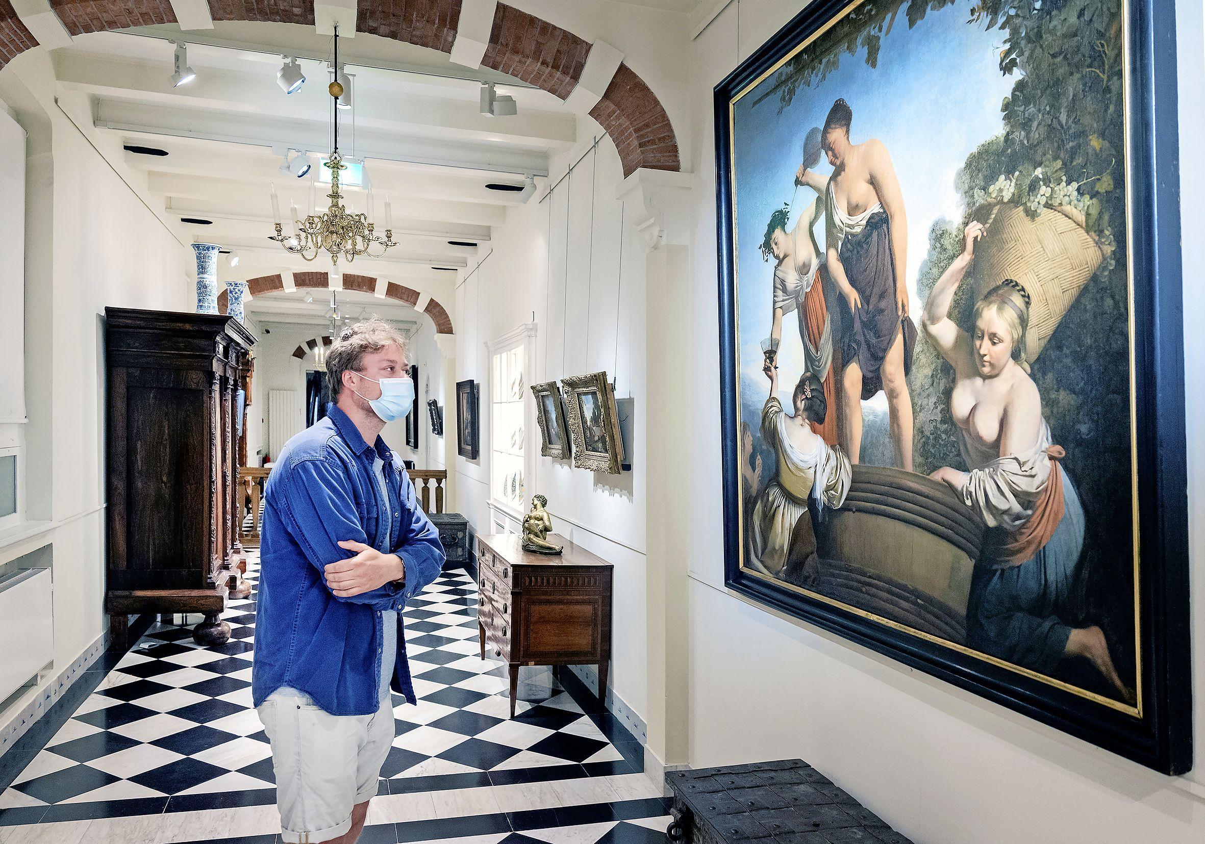 De musea zijn een week open. Blijdschap en opluchting bij kunstliefhebbers en vrijwilligers. 'Het twinkelt hier'