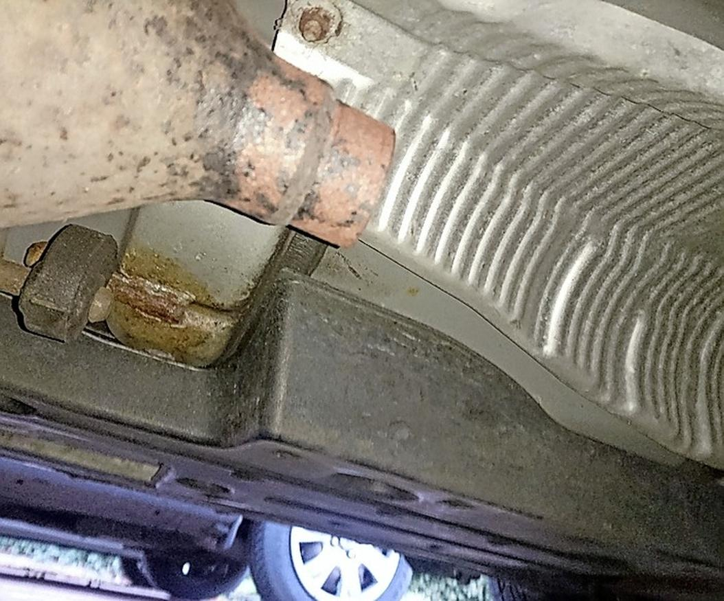 Dat is de zoveelste, wéér een katalysator uit een Toyota Prius gestolen. Dit keer nam de dief de hele auto mee