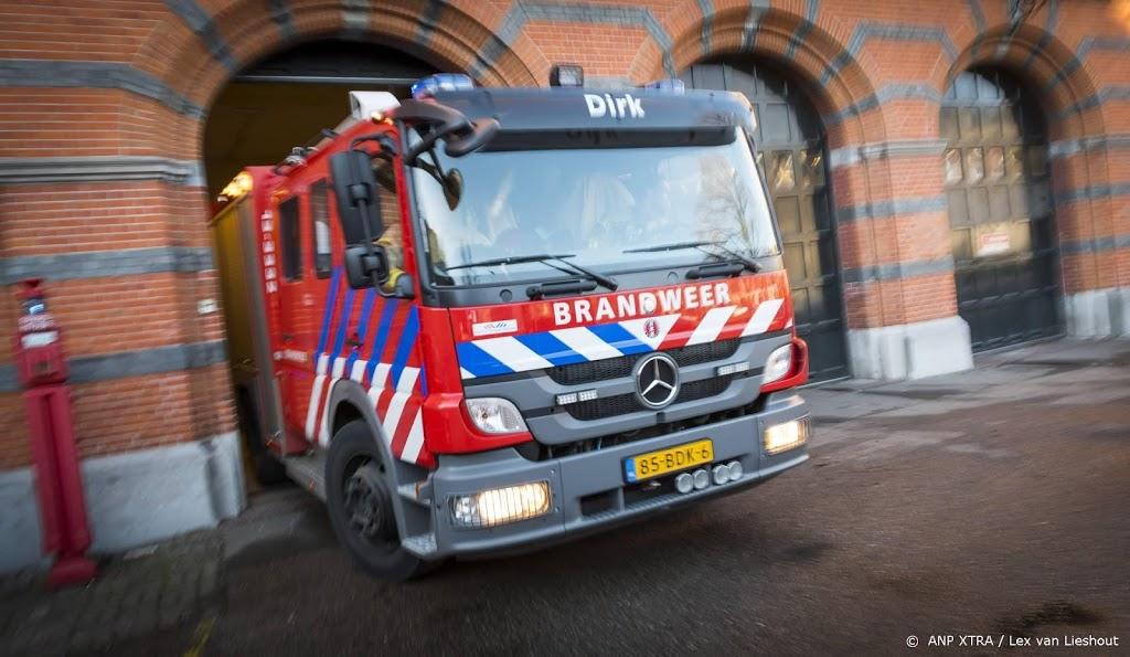 Brand in bedrijfspand in Haarlem