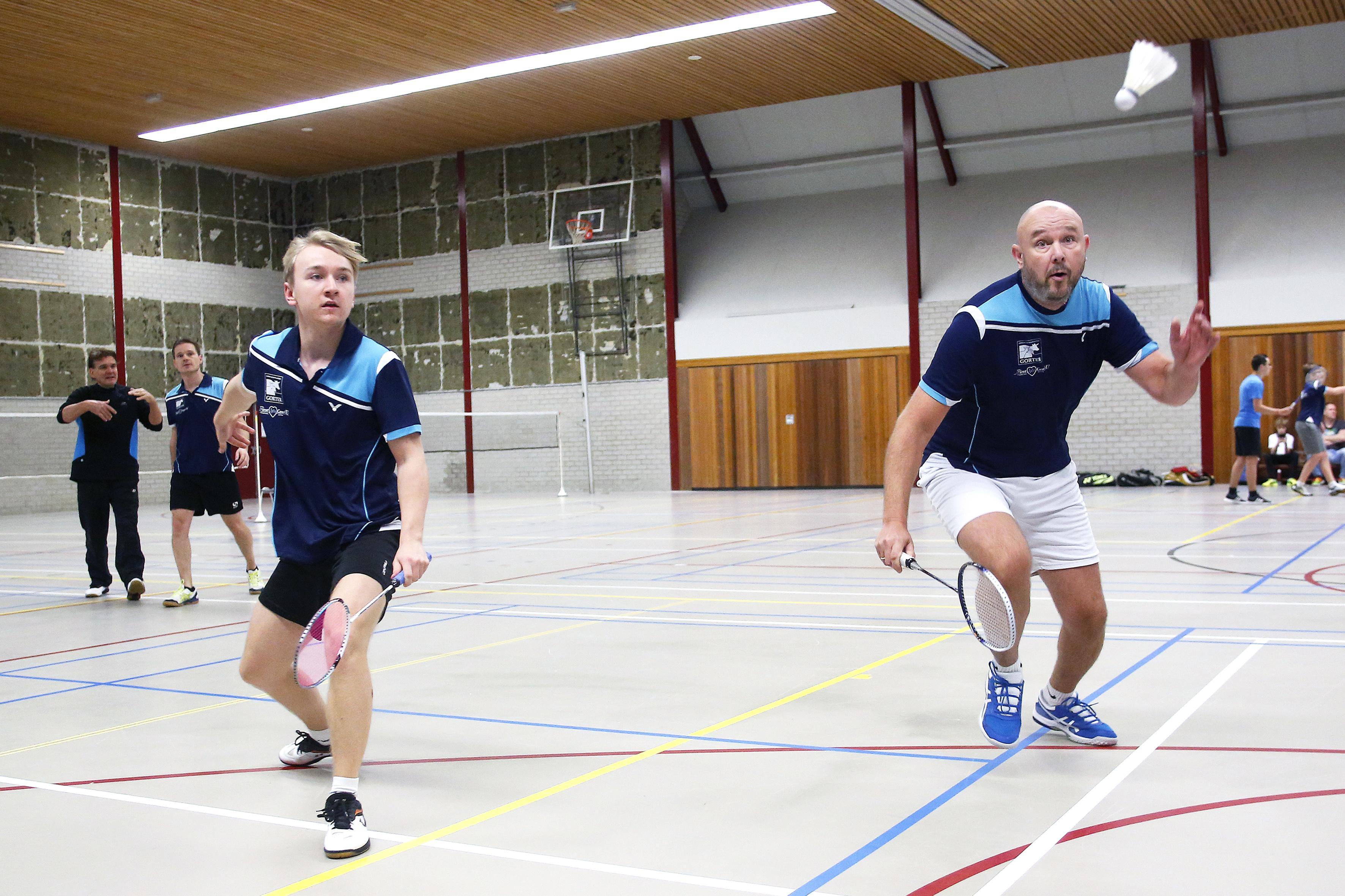 Badminton: Weesp laat het lopen, Inside 'zeer tevreden'