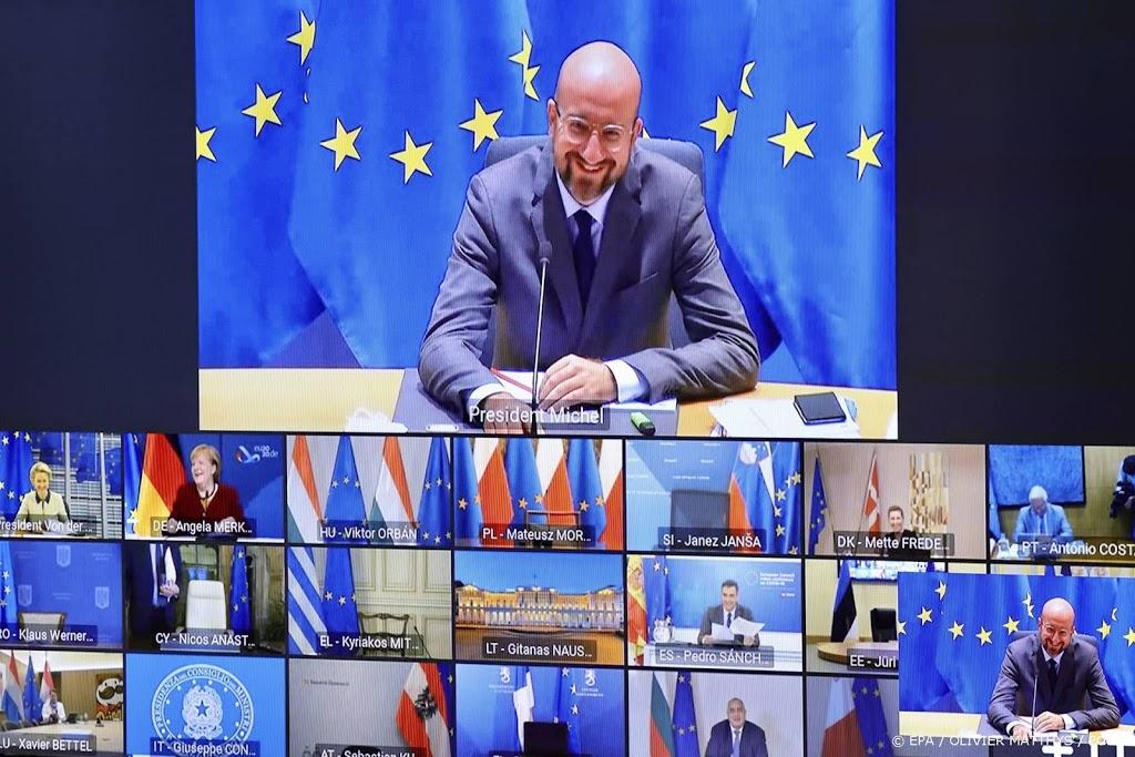 EU-leiders beraden zich weer over strijd tegen corona