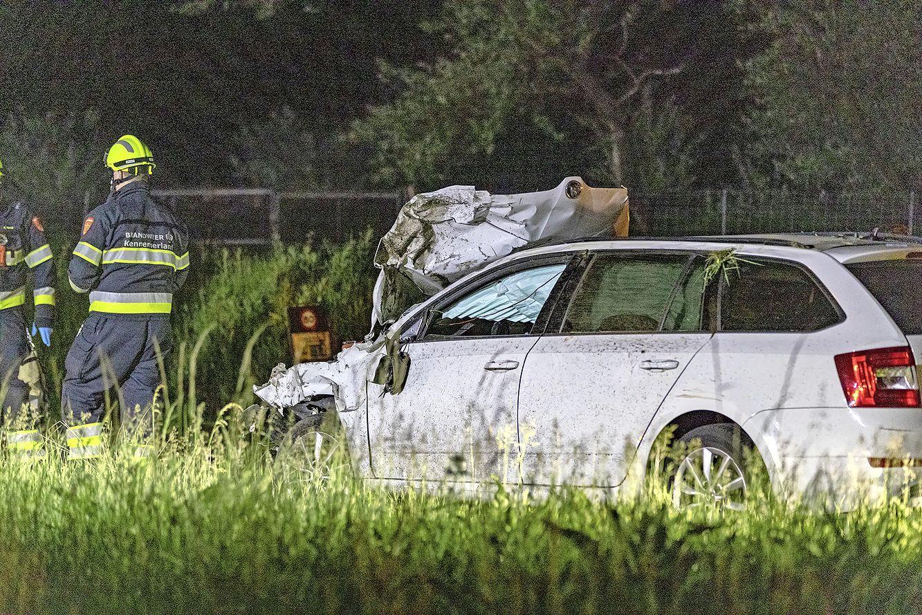Twee jonge vrouwen overleden bij aanrijding op N200 tussen Bloemendaal en Overveen
