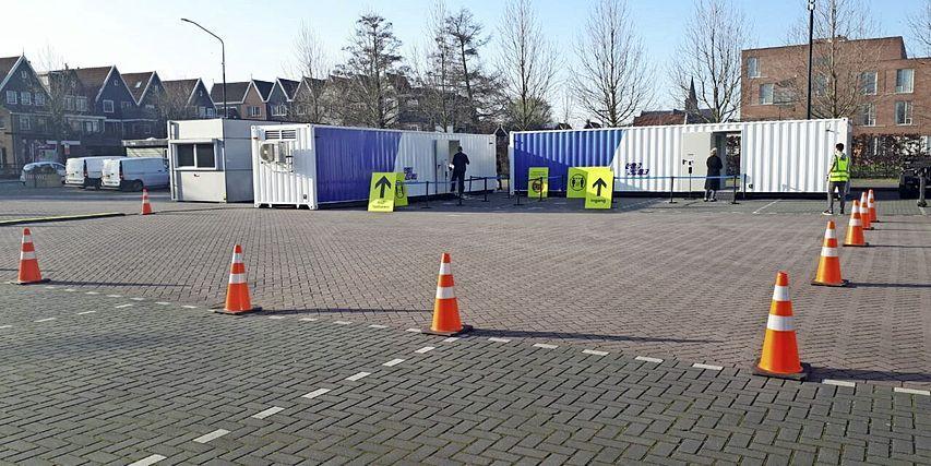 Testlocatie Volendam gaat dicht nu coronabesmettingen dalen