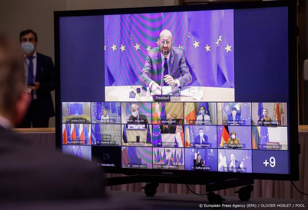 Mutanten domineren negende corona-videovergadering EU-leiders