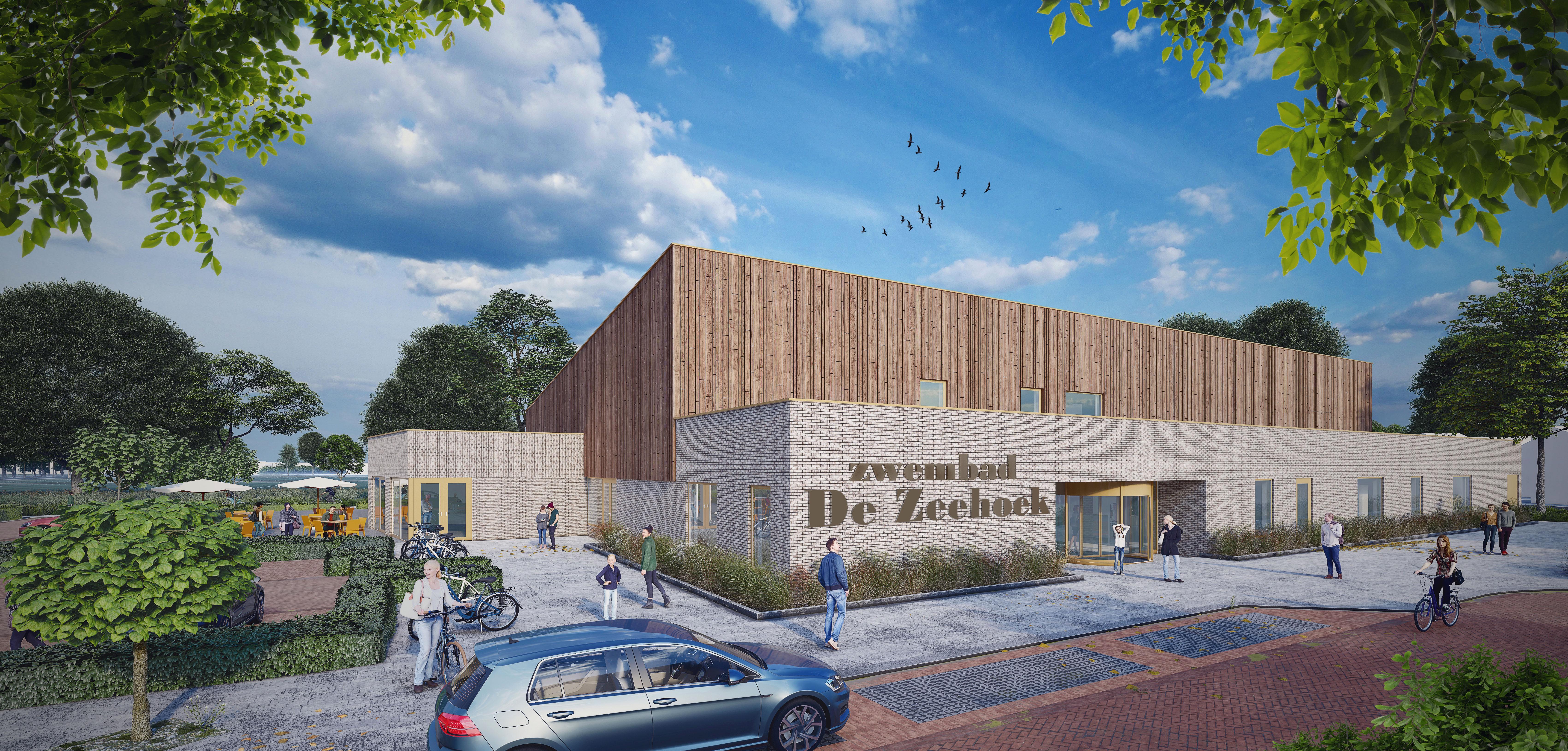 Een nieuw zwembad én 81 woningen. West-Friese bedrijven toveren toch weer een plan voor De Zeehoek in Wervershoof uit de hoge hoed. De kosten: 7,6 miljoen. 'Dorpsraad en bestuur zijn al akkoord'