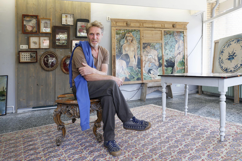 'Een beter ontwikkeld gevoel voor schoonheid dan anderen', Vincent Bakkum toont 'oud werk' in oude slagerswinkel