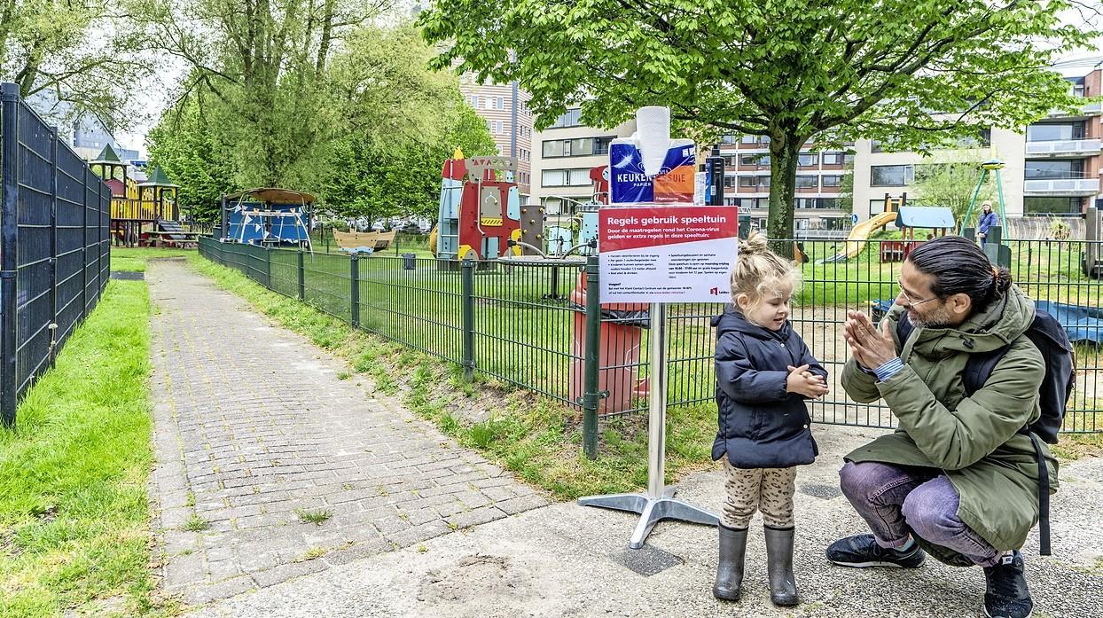 Burgemeester bedenkt trucje: speeltuinen in Leiden toch open