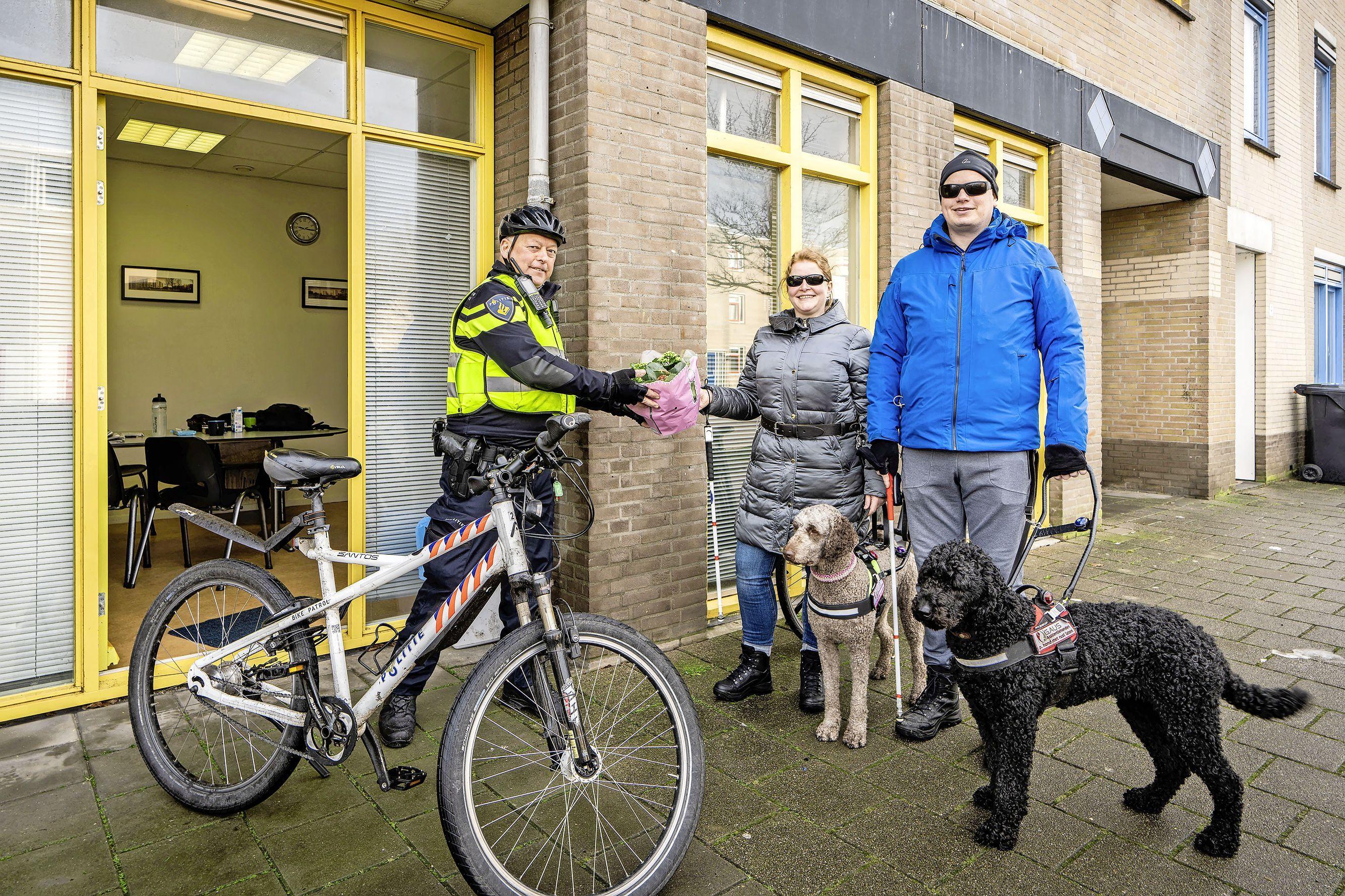 Willem van Egmond, de nieuwe wijkagent in de Stevenshof, is 'allergisch' voor racisme