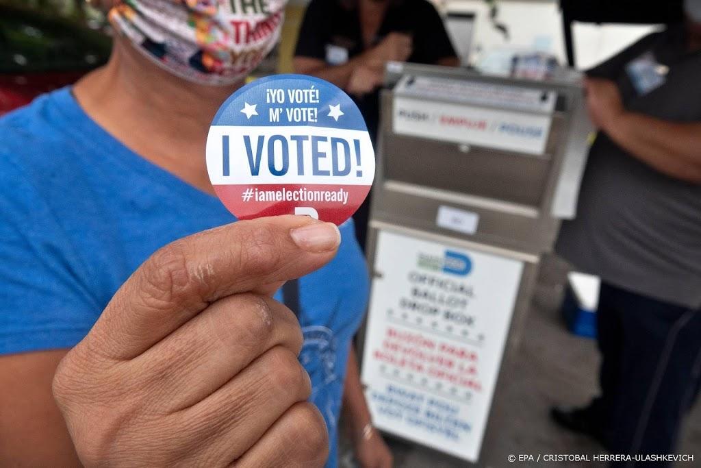 Al ruim vijftig  miljoen stemmen uitgebracht in VS