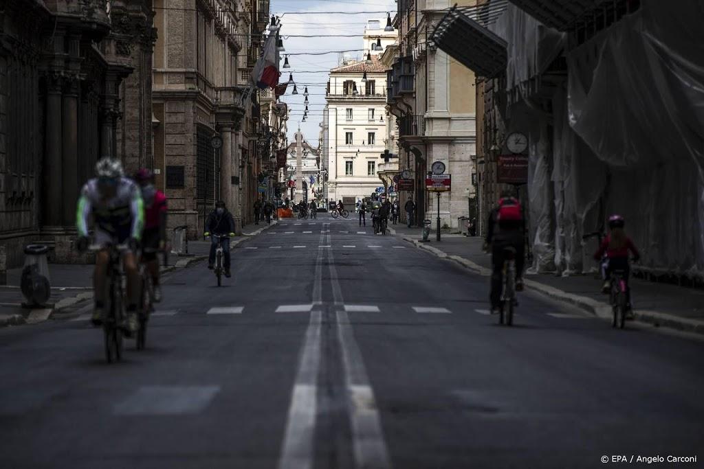 Coronamaatregelen versoepeld in vrijwel heel Italië