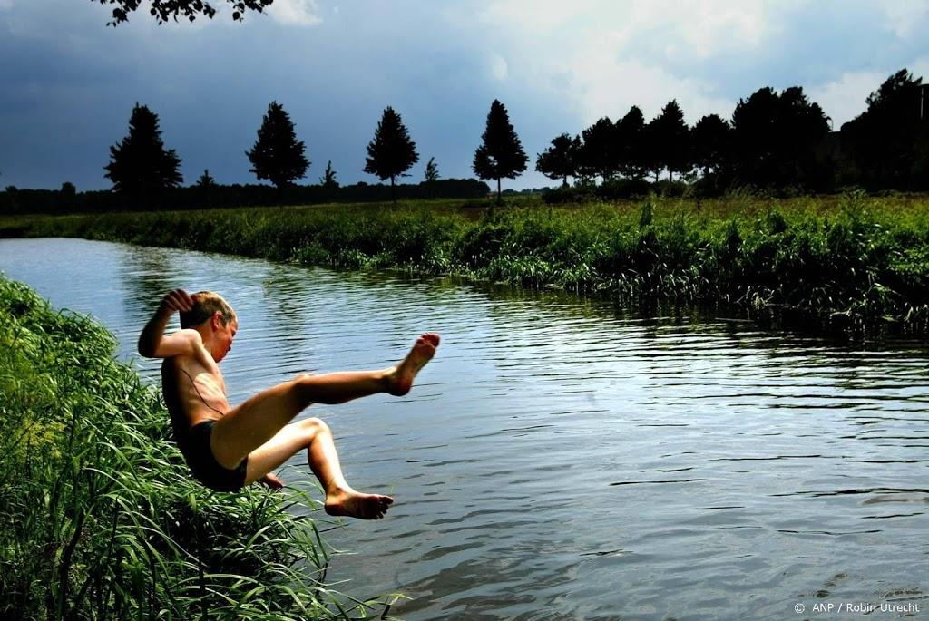 Negatief zwemadvies open water 19 gemeenten, waaronder Amsterdam