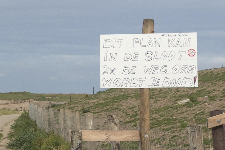 Hoogheemraadschap gaat in gesprek met dorpscommissie Oudeschild na stenenactie bij Ceres