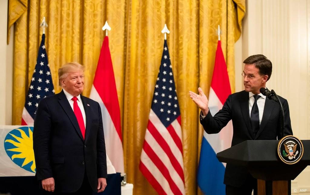 Rutte: claims Trump over verkiezingsfraude 'opmerkelijk'