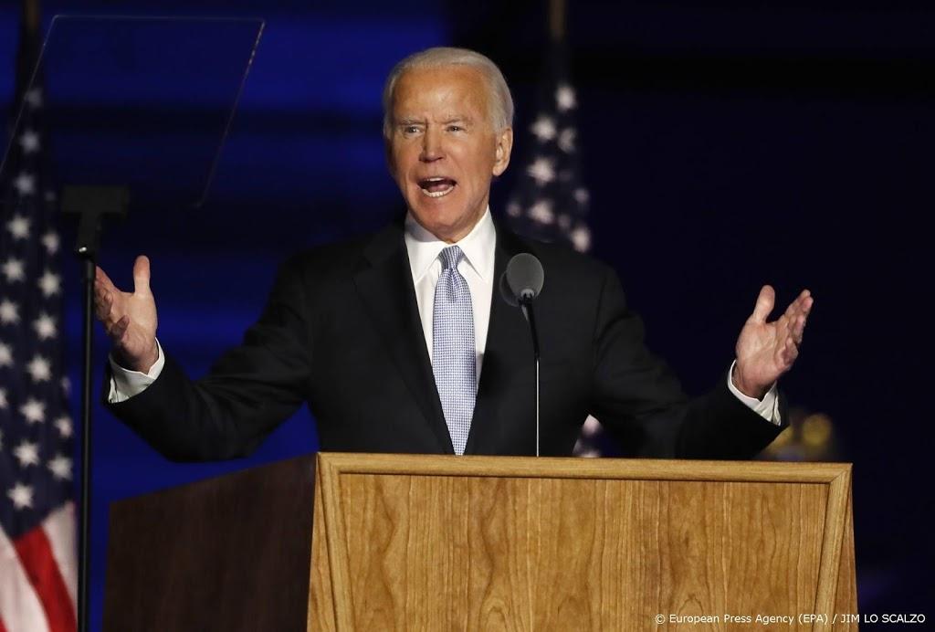 Biden treedt aan als 46e president van de Verenigde Staten