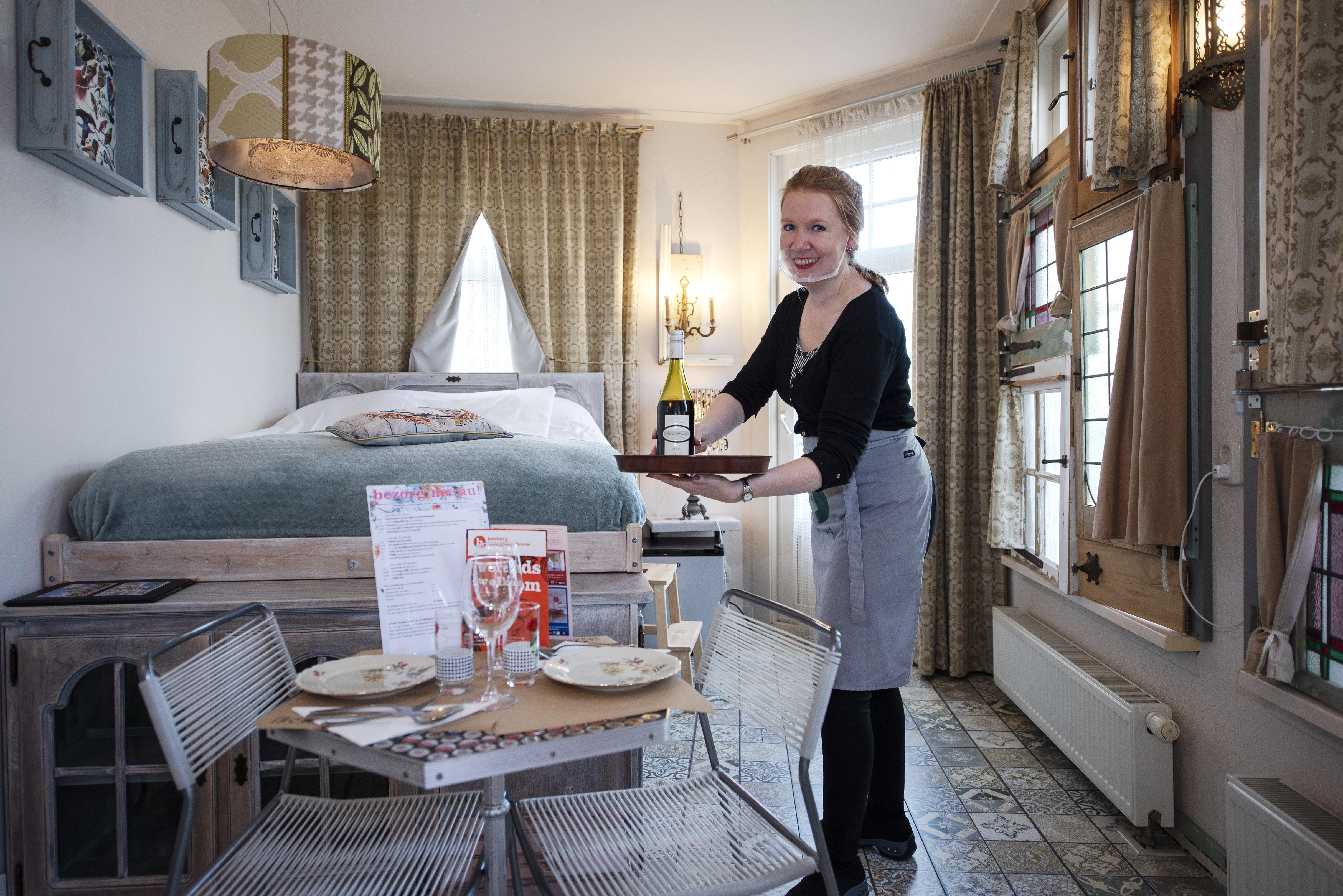 Eetlokaal en herberg Be My Guest bezorgt niet alleen eten, maar indien gewenst zelfs ook een 'thuis'