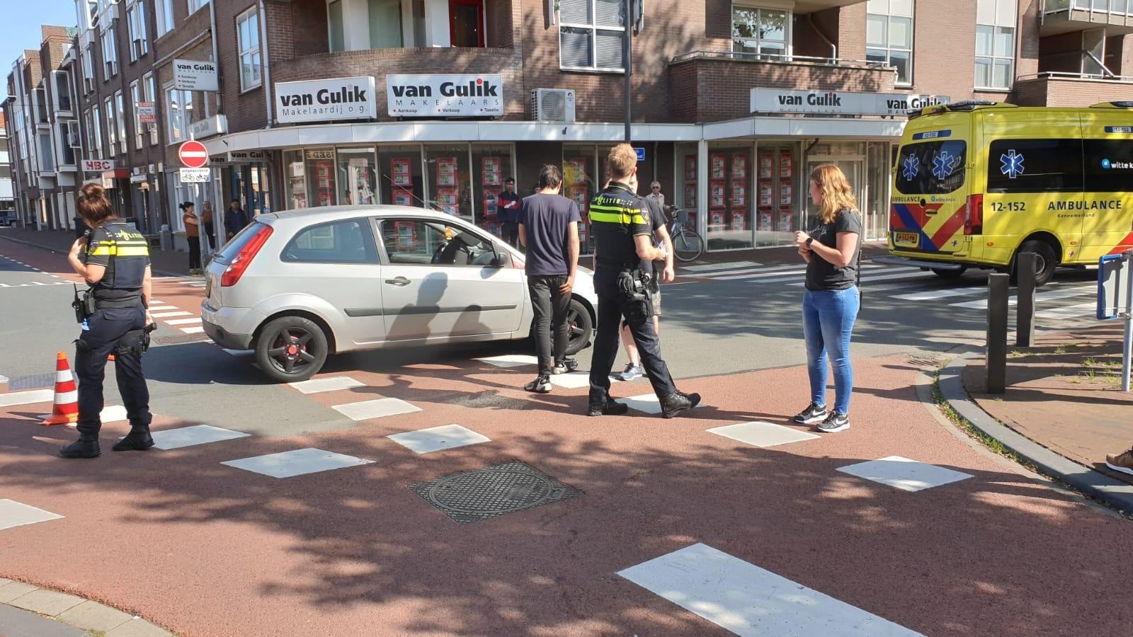 Fietser aangereden in Beverwijk; politie doet onderzoek