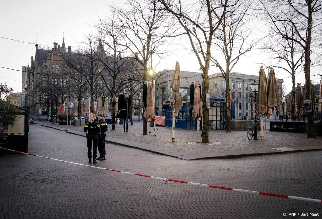 Alphenaar blijft vastzitten voor bommelding Binnenhof