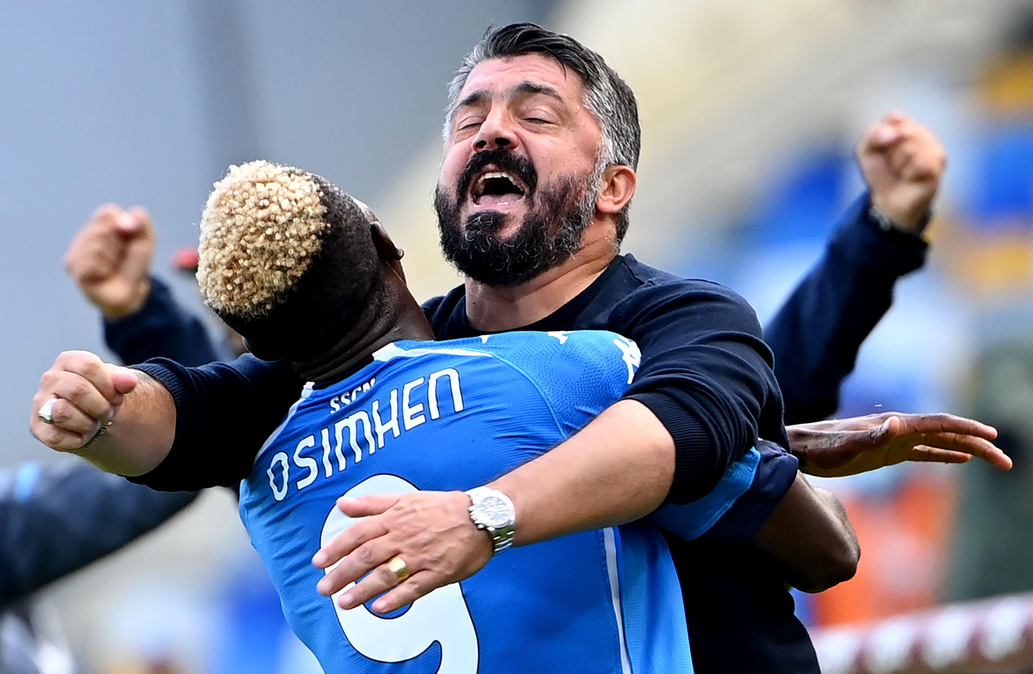 Napoli waarschuwt AZ nog maar eens even: Atalanta opgerold