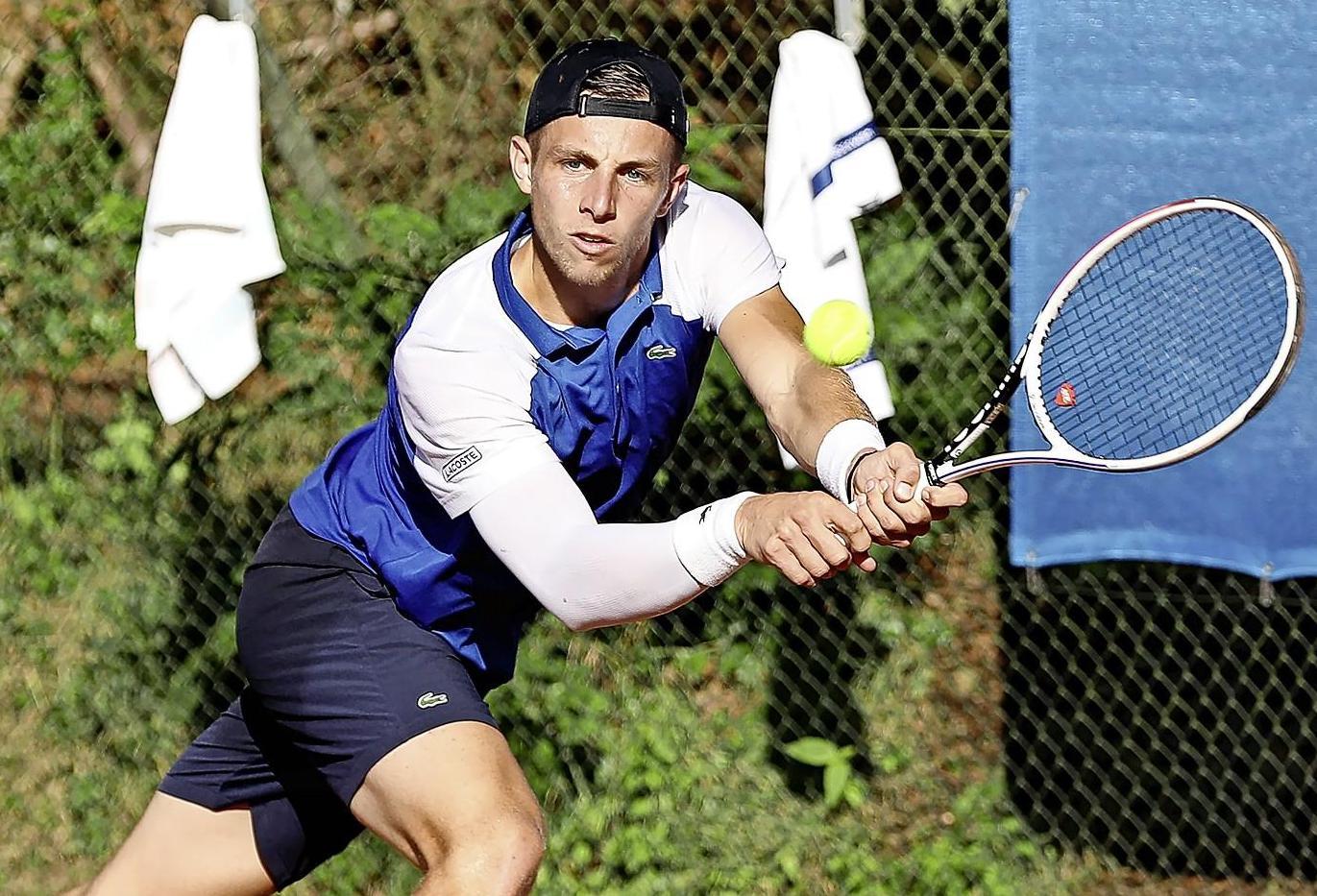Tallon Griekspoor knokt zich naar tweede ronde ATP-toernooi Gstaad